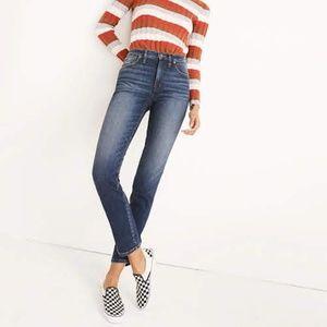 Madewell Slim Straight Jeans  - 28 Tall
